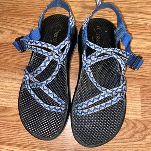 Blue and Black Chaco
